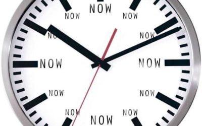 """Επιλέξτε το """"Tώρα"""" αντί για το αύριο"""